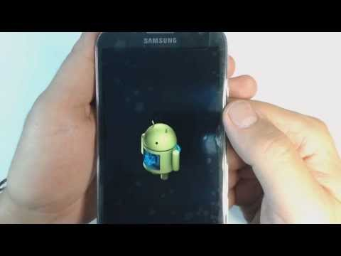 Samsung Note 2 N7100 - How to reset - Como restablecer datos de fabrica