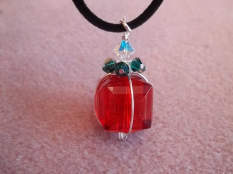 Christmas Package Pendant