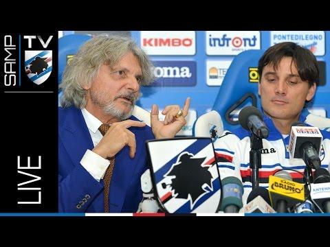 Streaming conferenza stampa di presentazione di Montella