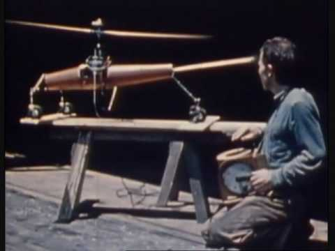 Worlds First Rc Helicopter From 1941 Also Crazy Accident
