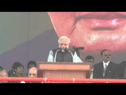 Shri Narendra Modi addresses Vijay Shankhnaad Maha Rally in Lucknow, Uttar Pradesh HD