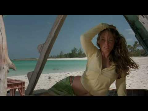 Kelly Brook hot, sexy in Three (Survival Island)