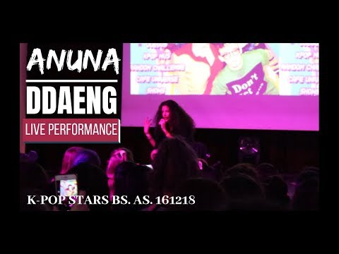 [161218 K-POP STARS] ANUNA - '땡 (DDAENG)' [LIVE PERFORMANCE]