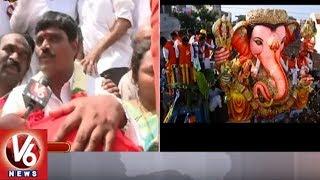 Balapur Laddu Auction Winner Srinivas Gupta Face To Face   Ganesh Immersion 2018