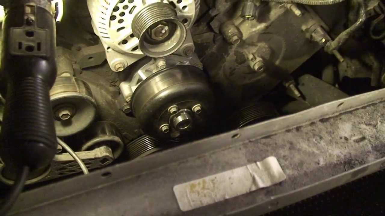 ford expedition - water pump replacement