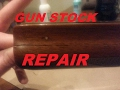 How To Fix a Broken Gun Stock With Wood Glue: Easy Repair & Glueing of a Cracked Fore End Grip