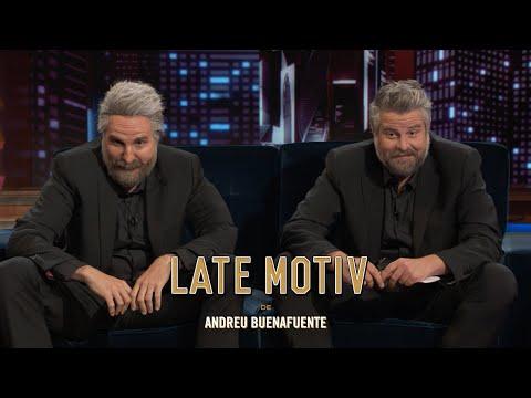 LATE MOTIV - Raúl Cimas y Raúl Pérez. Dos Cimas y un rosco   #LateMotiv886