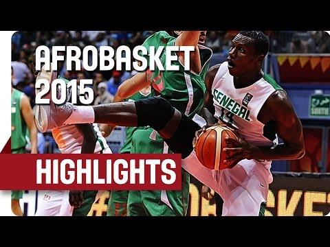 Senegal v Algeria - Game Highlights - Quarter Final - AfroBasket 2015