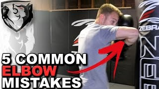 5 Common Elbow Strike Mistakes: How to Cut Your Opponent