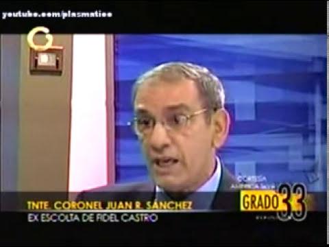 Juan Reinaldo Sánchez  EX-GUARDAESPALDA DE FIDEL CASTRO LE HABLA AL CHAVISMO