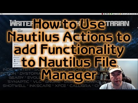 How to Use Nautilus Actions to add Functionality to Nautilus File Manager