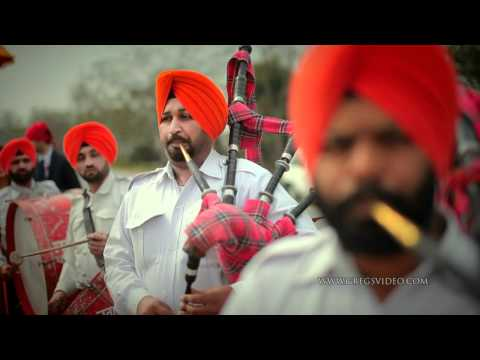 AMRITSAR Punjabi Wedding Highlights. India 2011.