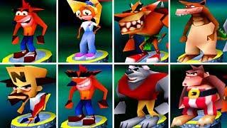 Crash Bash - All Characters + Multiplayer + Crash Carnival
