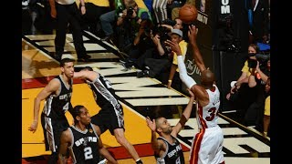 Ray Allen's Epic Clutch Shot - 2013 NBA Finals Game 6
