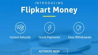 How To Activate Flipkart Money Wallet