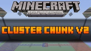 Minecraft (Xbox 360) PVP Map: Cluster Chunk [Download In Description]