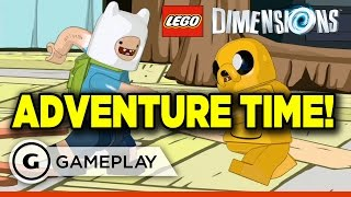 Lego Dimensions: Adventure Time - A Book and a Bad Guy Gameplay
