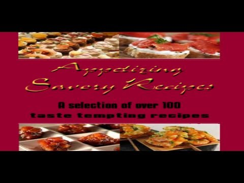 Appetizing Savory Recipes Book