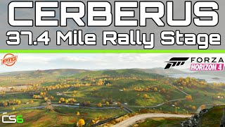 MASSIVE 37.4 Mile Long Custom Rally Stage - CERBERUS - Forza Horizon 4