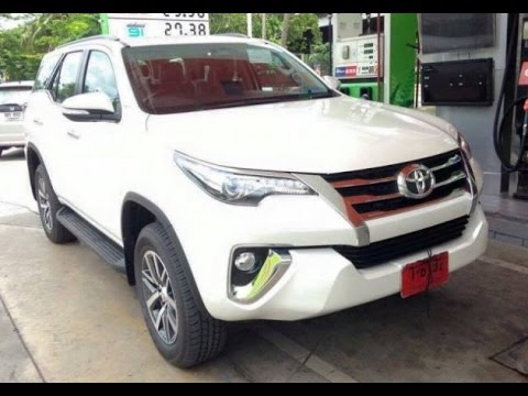 2016 Toyota Fortuner AWD SUV Facelift - YouTube