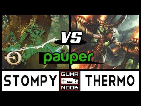 Pauper - STOMPY vs THERMO DELVER feat Magic Competitivo