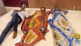 Boys Hostel Comedy | Comedy Funny Video 2018 | Mumbai | Sleeping Comedy | Social Banda | 4K UHD