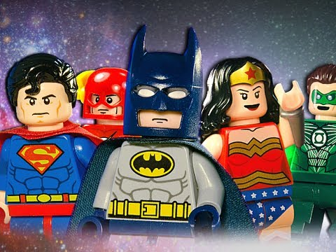 Lego Justice League video