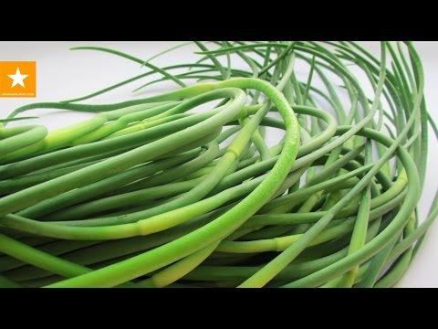 Чесночные стрелки в сметане - рецепт от Мармеладной Лисицы
