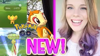 CATCHING ALL NEW GEN 4 POKEMON IN POKEMON GO! All You Need to Know!