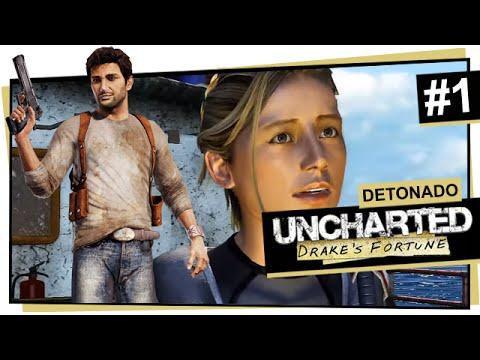 Uncharted #1 - A Emboscada / Uncharted: Drake's Fortune (Português)