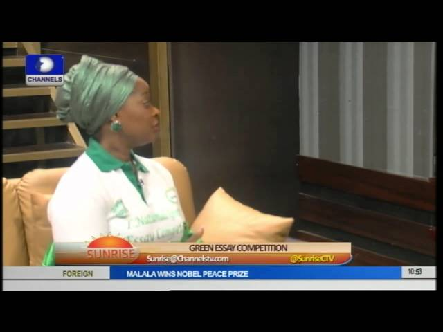 Ogun 1st Lady Talks Green With Green Essay Competition (GEFTY) pt.2