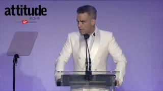 Robbie Williams - Attitude Awards 2016 Speech