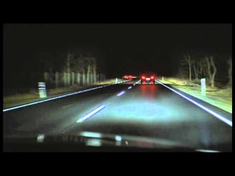 I fari a matrice di LED Opel - YouTube