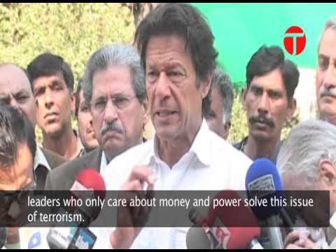 Taliban and sectarianism are different issues and should be tackled separately: Imran Khan