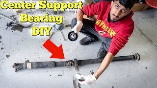 How To Replace Center Support Bearing On Driveshaft (CSB)