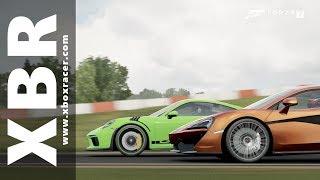 McLaren 570S vs Porsche 911 GT3RS à V.I.R (Forza 7)