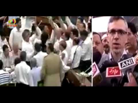 J&K Assembly witnesses ugliest sight ever | Omar Abdullah takes on PDP - BJP government