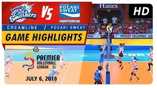 PVL RC Season 2: WD Semifinals - Cool Smashers vs. Lady Warriors | Game Highlights | July 6, 2018