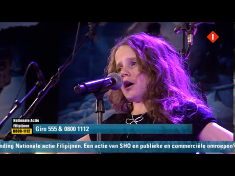 Amira Willighagen sings live opera at Television Action Philippines 11-18-2013