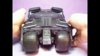 Mattel Batman Begins - Batmobile demo