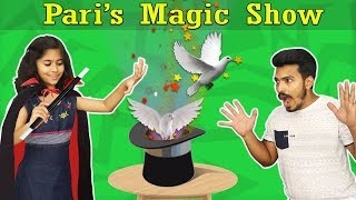 Wow Kids Doing Magic Show | Very Easy Magic Tricks For Kids