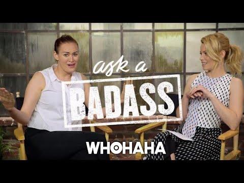 "Mamrie Hart On Elizabeth Banks' ""Ask A Badass"""