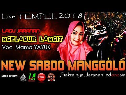 NGELABUR LANGIT Cover Voc MAMA YAYUK - New SABDO MANGGOLO Live TEMPEL 2018