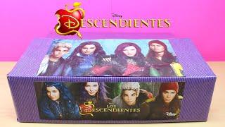 Caja Sorpresa de LOS DESCENDIENTES de Disney   Unboxing Descendants   Muñeca Evie Descendientes