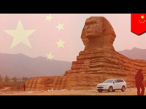 5000 years of counterfeiting! Egypt deeply unpleased with China's fake Sphinx