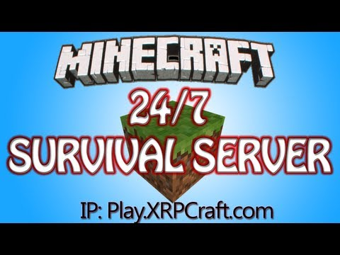 XRPCraft -  24/7 MineCraft 1.7 Survival RolePlay Server (No Whitelist) Factions