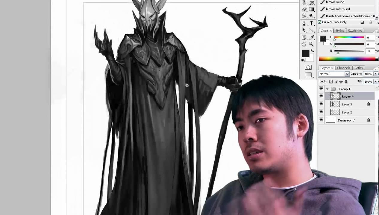 Character Design Villain : Jason chan character design the villain youtube