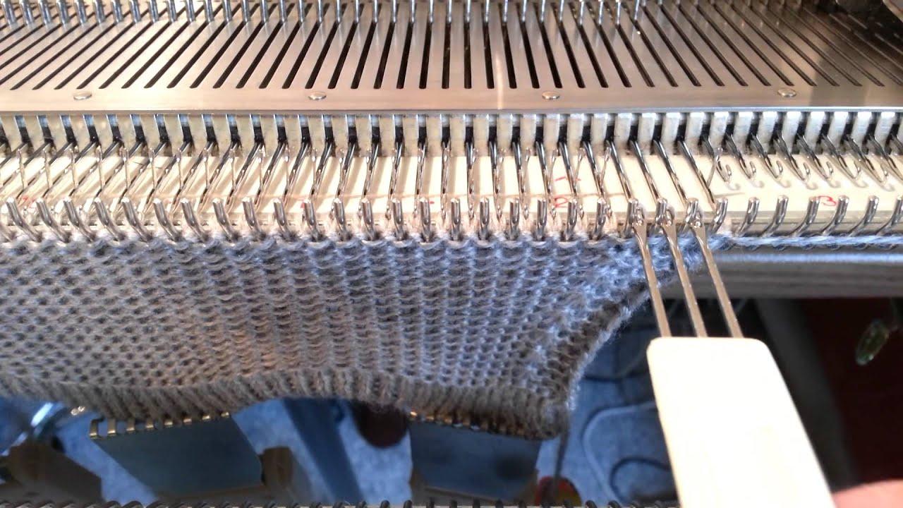 Вязание на silver reed sk840