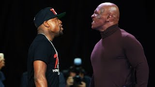 Floyd Mayweather vs Mike Tyson   Fights and Training