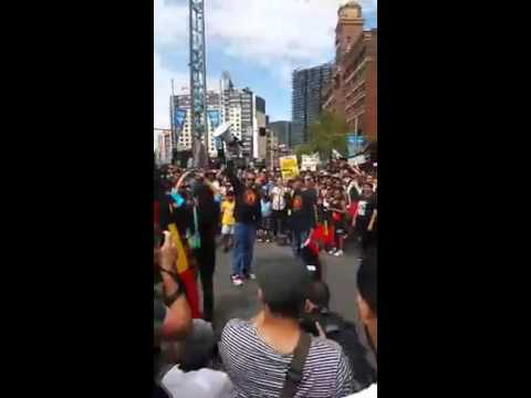 Invasion day 2016-Uprising of Australian aboriginal people